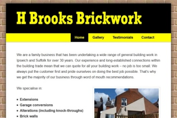 H Brooks Brickwork