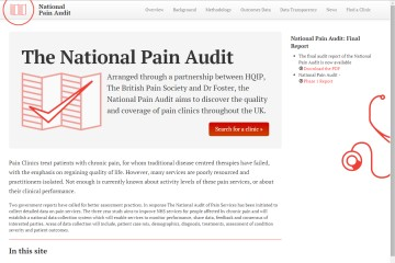 National Pain Audit